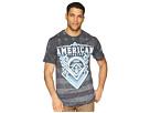 American Fighter American Fighter Mayhill Short Sleeve Tetris Mock Twist Tee