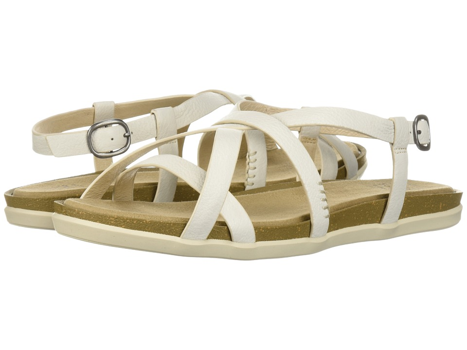 G.H. Bass & Co. Margie 2.0 (White Leather) Sandals