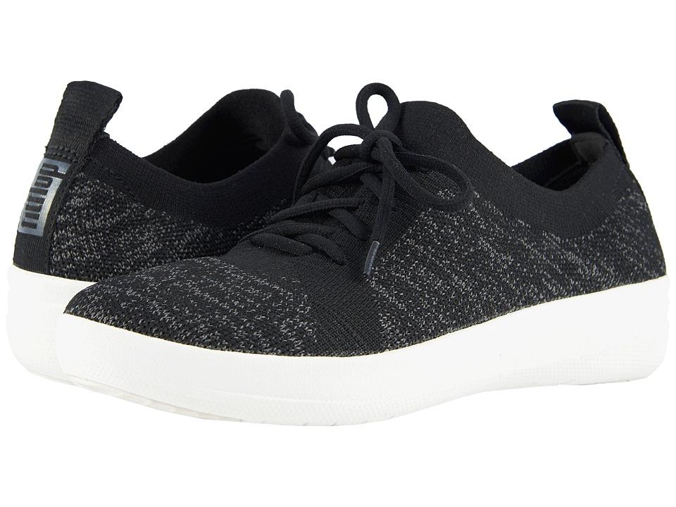 FitFlop F-Sporty Uberknit Sneakers (Black)