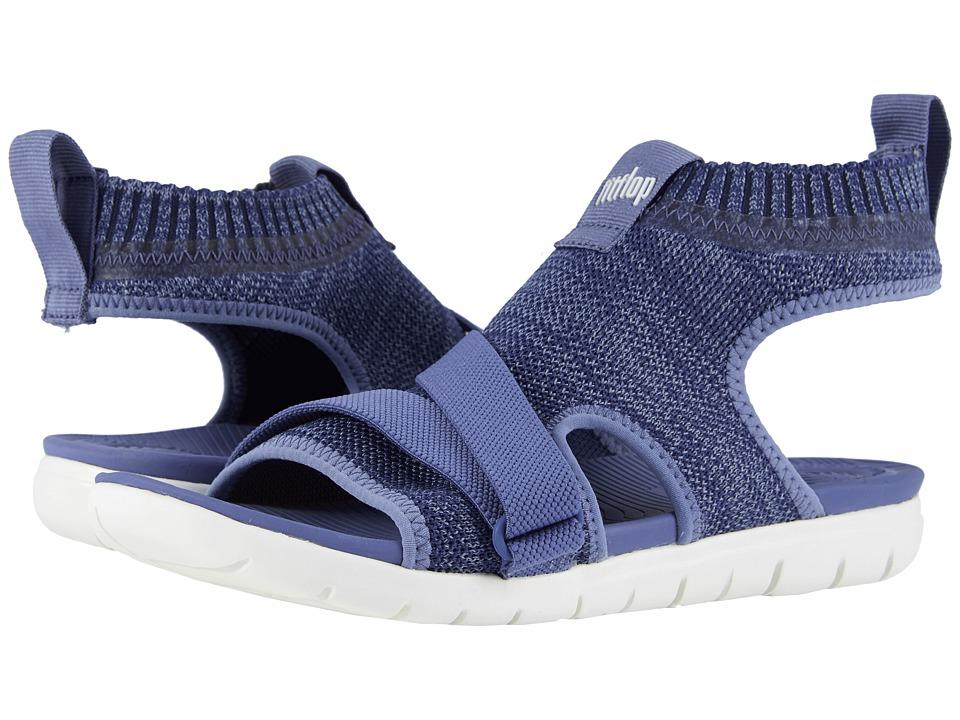 FitFlop Uberknit Back Strap Sandals (Indian Blue/Powder B...