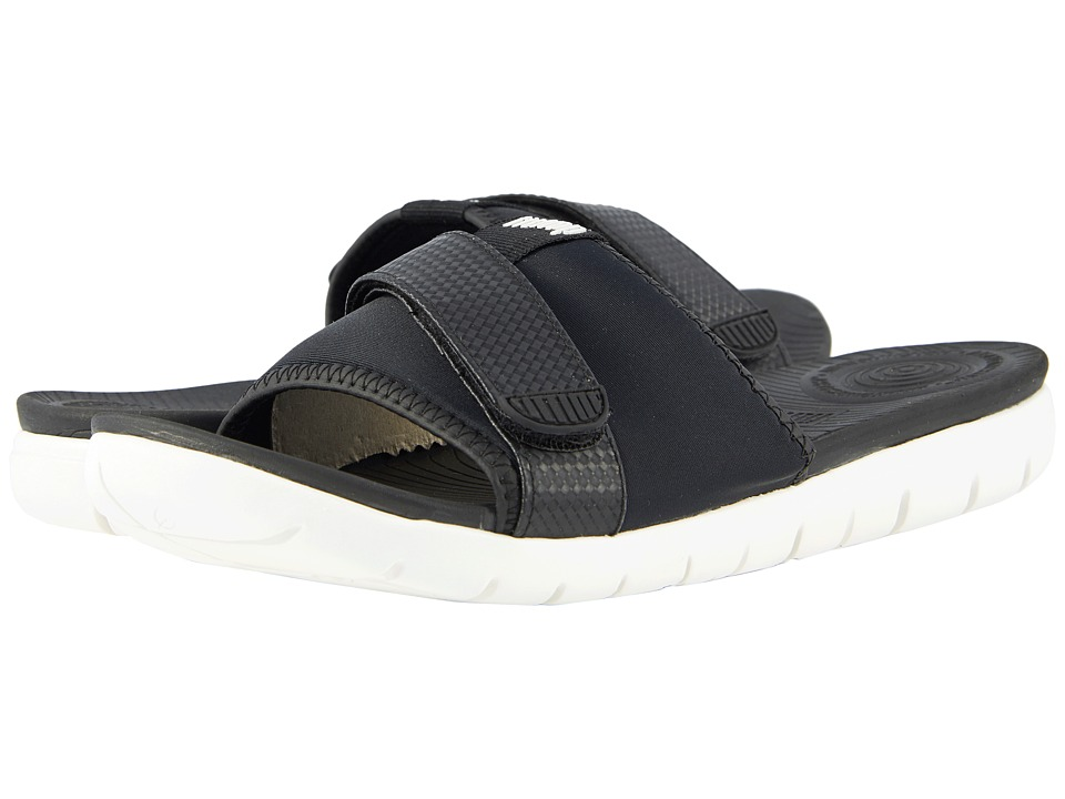 FitFlop - Neoflex Slide Sandals (Black Mix) Womens Sandals