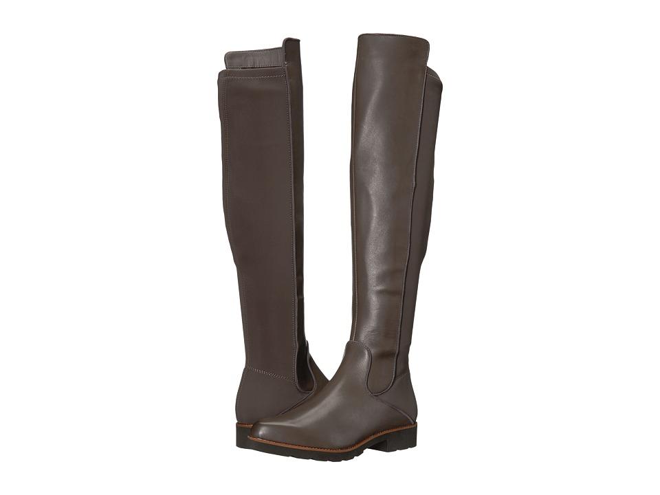 Franco Sarto Benner (Peat Leather/Stretch Lycra) Women