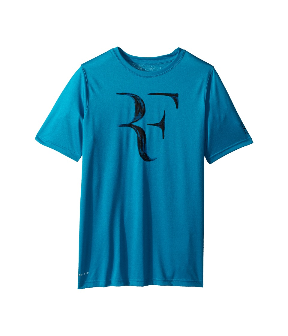 Nike Kids - Dry Court Legend Rafa Tee (Little Kids/Big Kids) (Neo Turquoise) Boys T Shirt