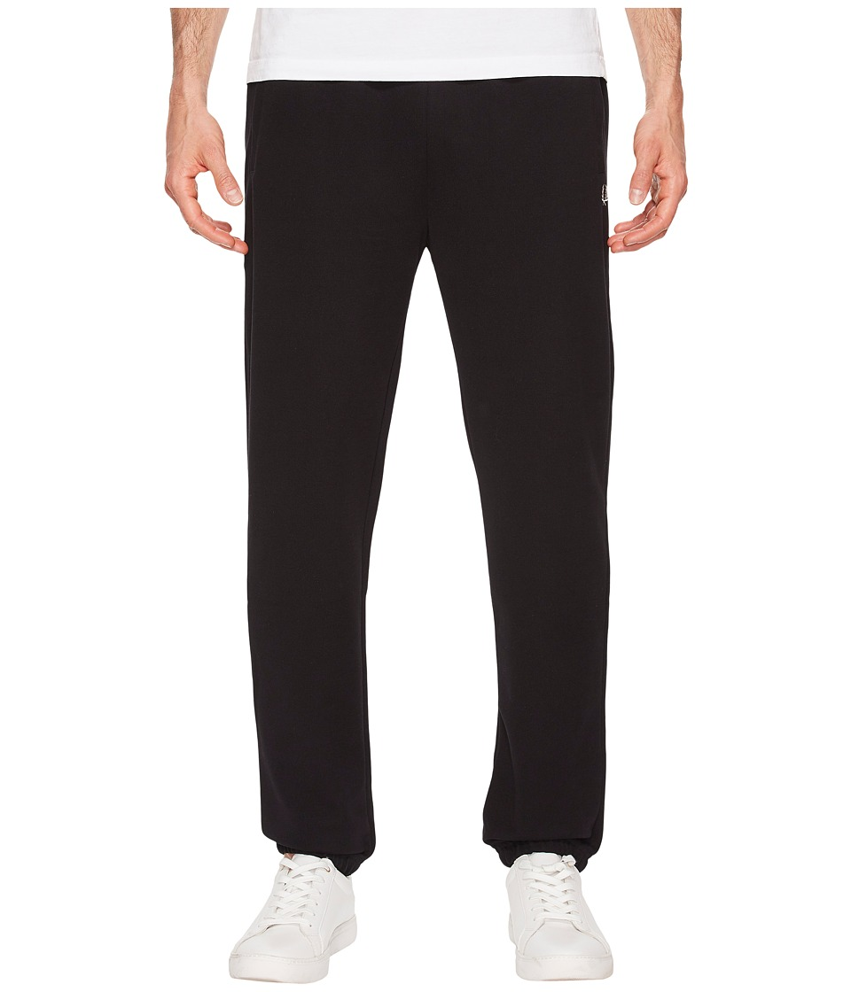 Fred Perry - Reverse Tricoat Track Pants (Black) Mens Casual Pants