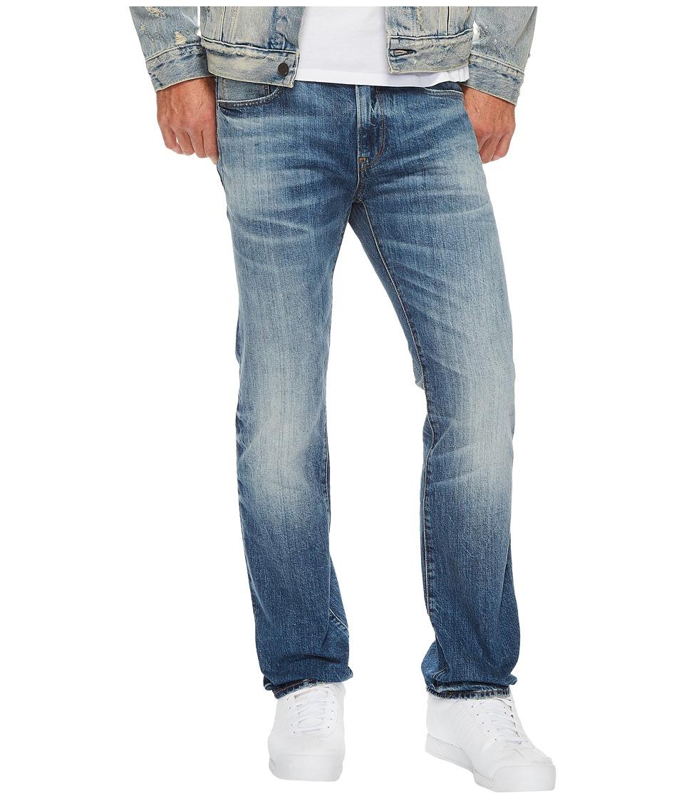 G-Star - 3301 Deconstructed Slim Straight in Medium Aged (Medium Aged) Mens Jeans