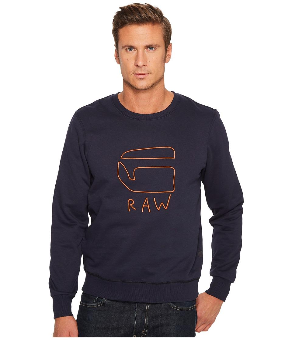 G-Star - Xondo Round Sweater Long Sleeve