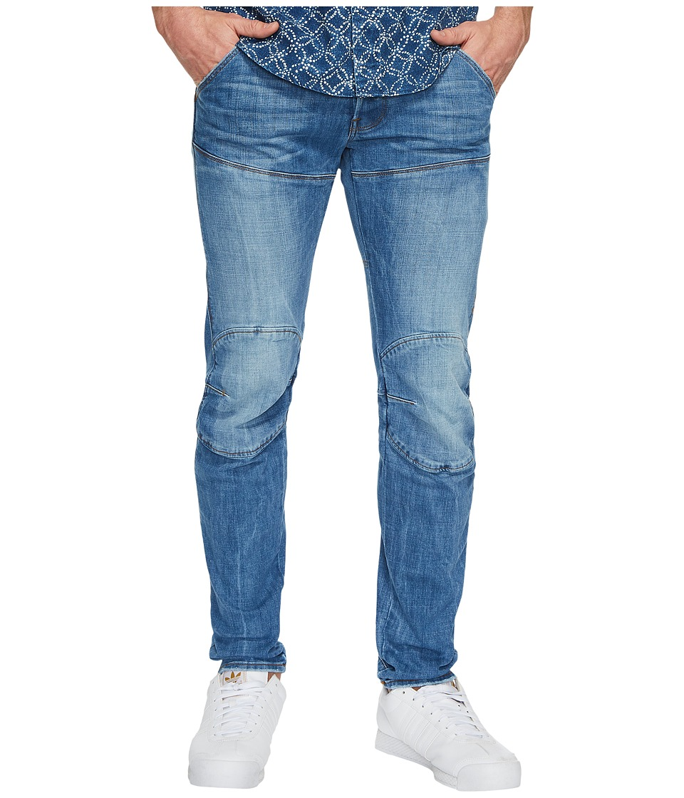 G-Star 5620 Deconstructed 3D Low Tapered in Light Aged (Light Aged) Men