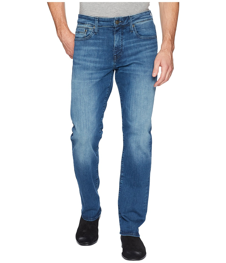 Mavi Jeans - Myles Casual Straight Leg in Mid Tonal Willi...