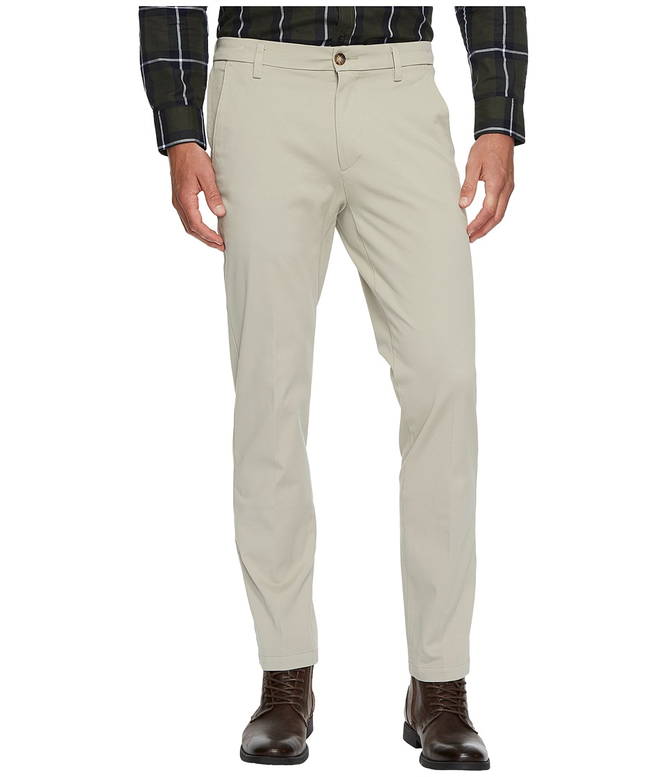 Dockers - Slim Tapered Fit Workday Khaki Smart 360 Flex Pants (Safari Beige) Mens Clothing