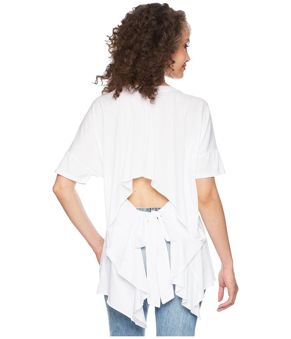 LAmade - Mack Open Back Tee (White) Womens T Shirt