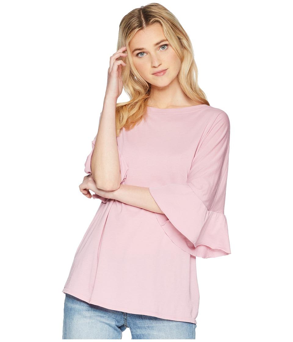 LAmade - Erin Ruffle Sleeve Tee (Lilas) Womens T Shirt