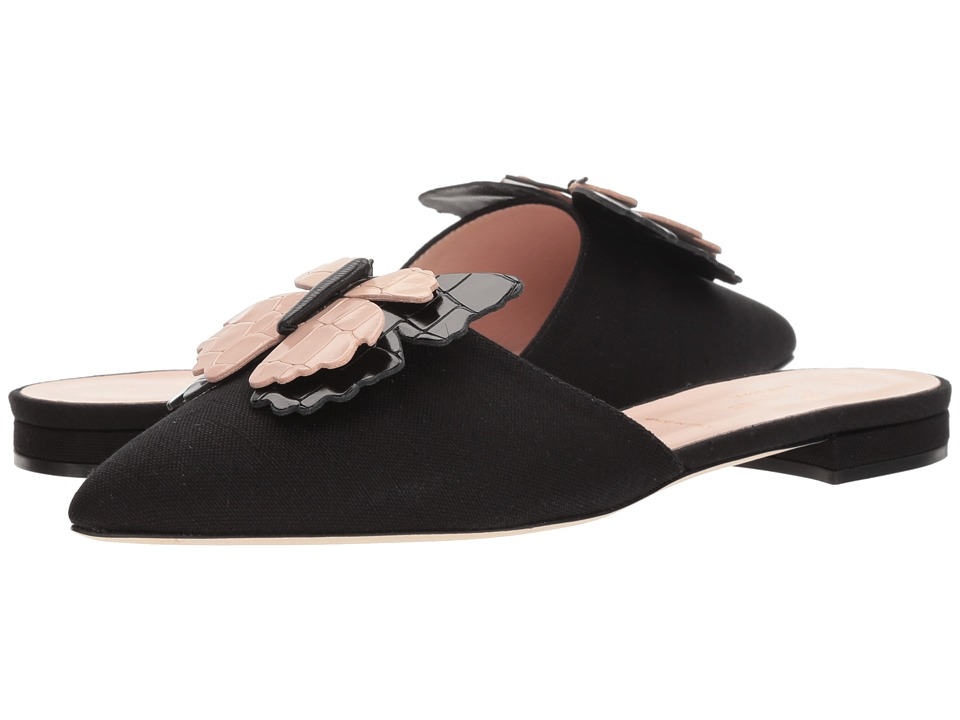 Kate Spade New York Blossom (Black Canvas) Women's Shoes