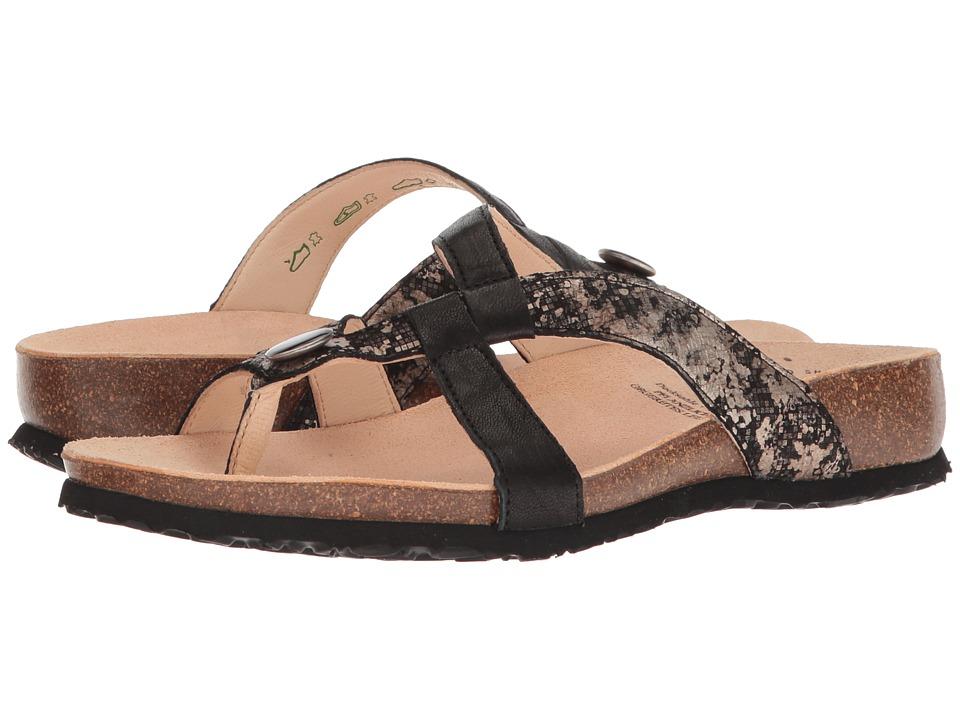 Think! - 82335 (Black/Kombi) Womens Sandals