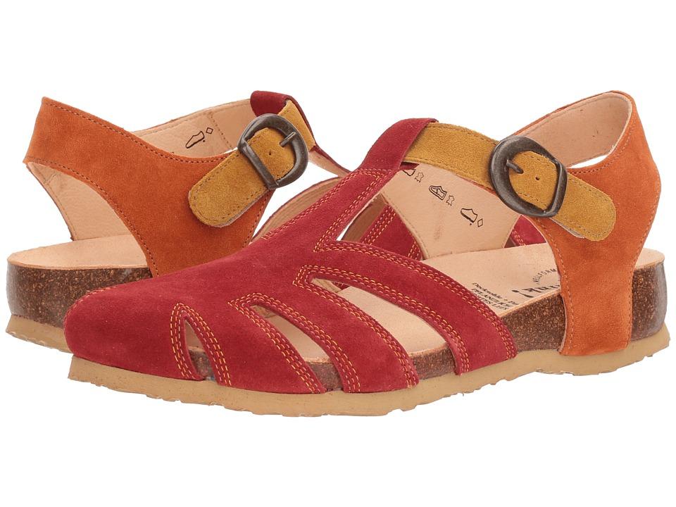 Think! - 82343 (Red/Kombi) Womens Sandals