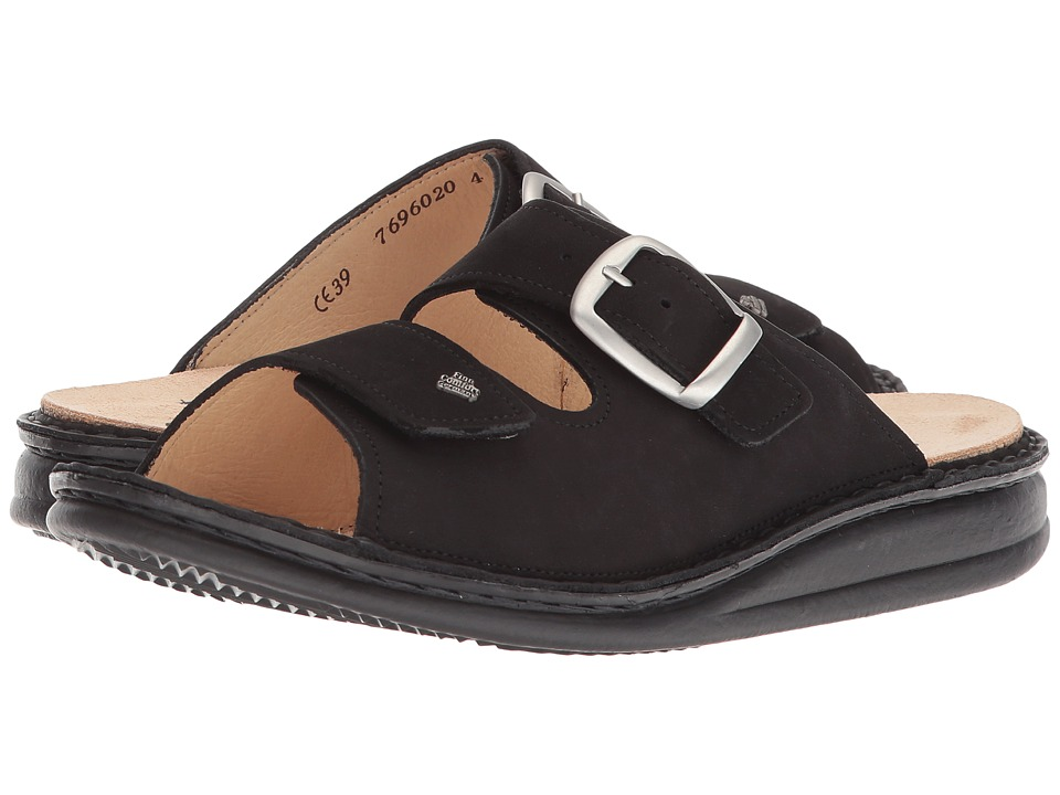 Finn Comfort - Harper (Black) Women's Sandals