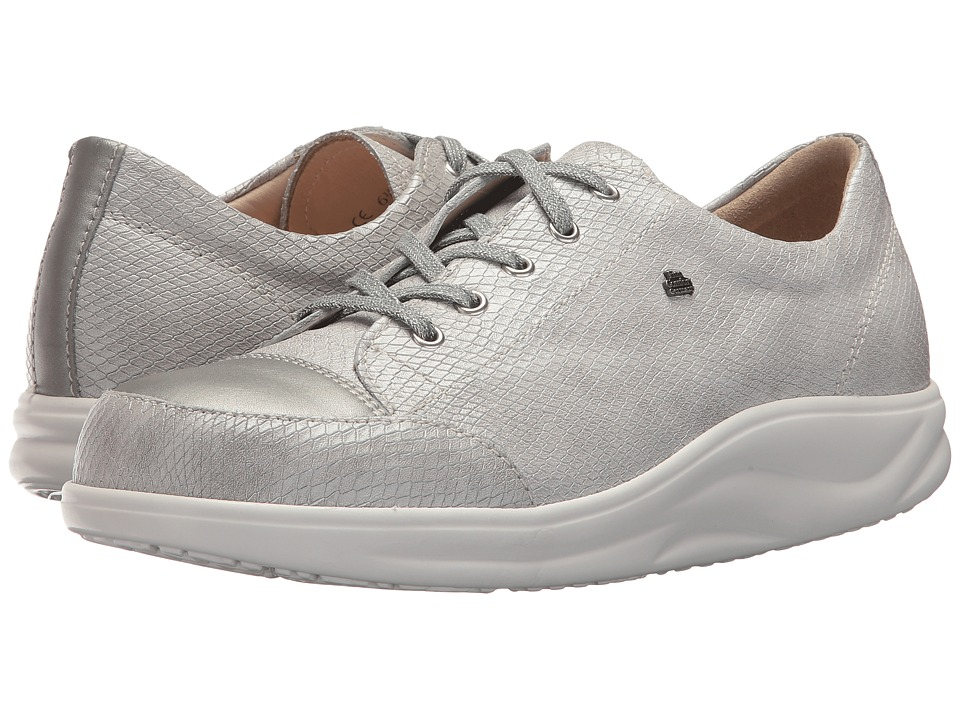 Finn Comfort Ikebukuro (Silver) Women's Lace up casual Shoes