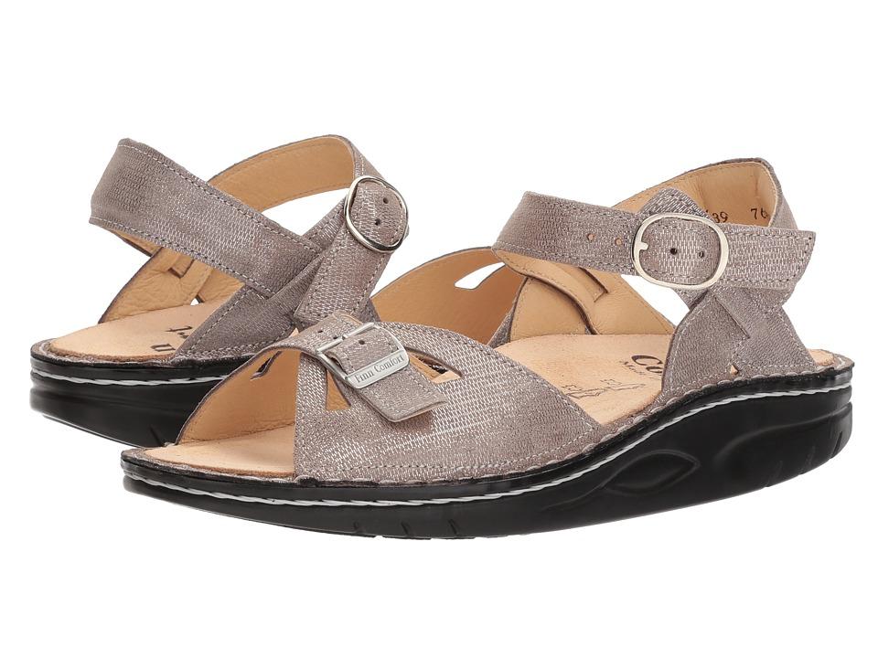 Finn Comfort Motomachi (Taupe Metallic) Sandals