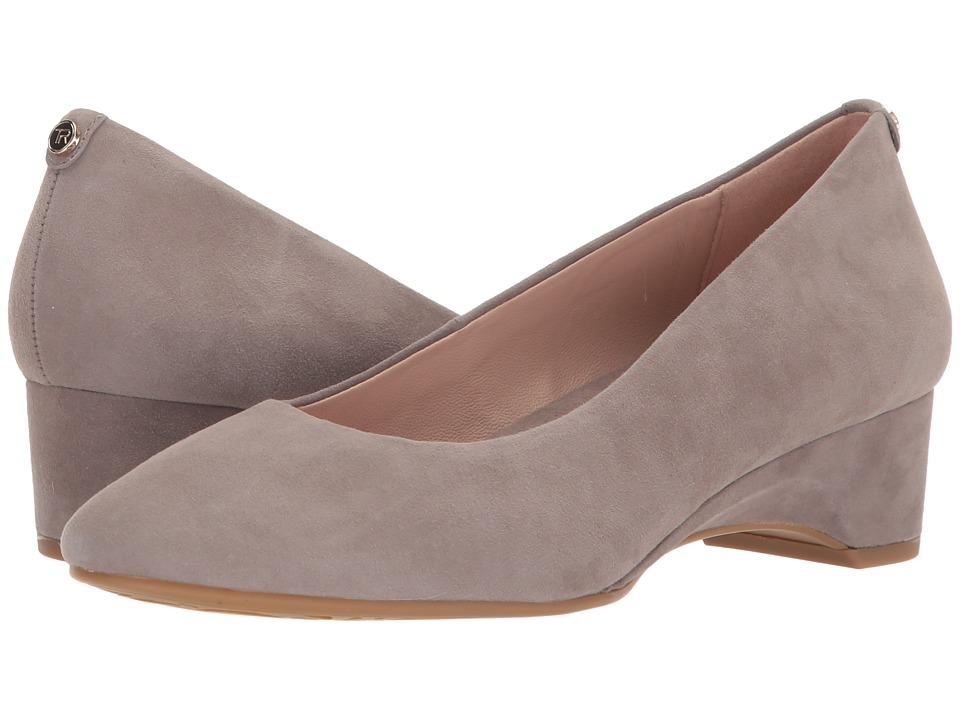 Taryn Rose Babs (Grey Silky Suede) Women's Shoes