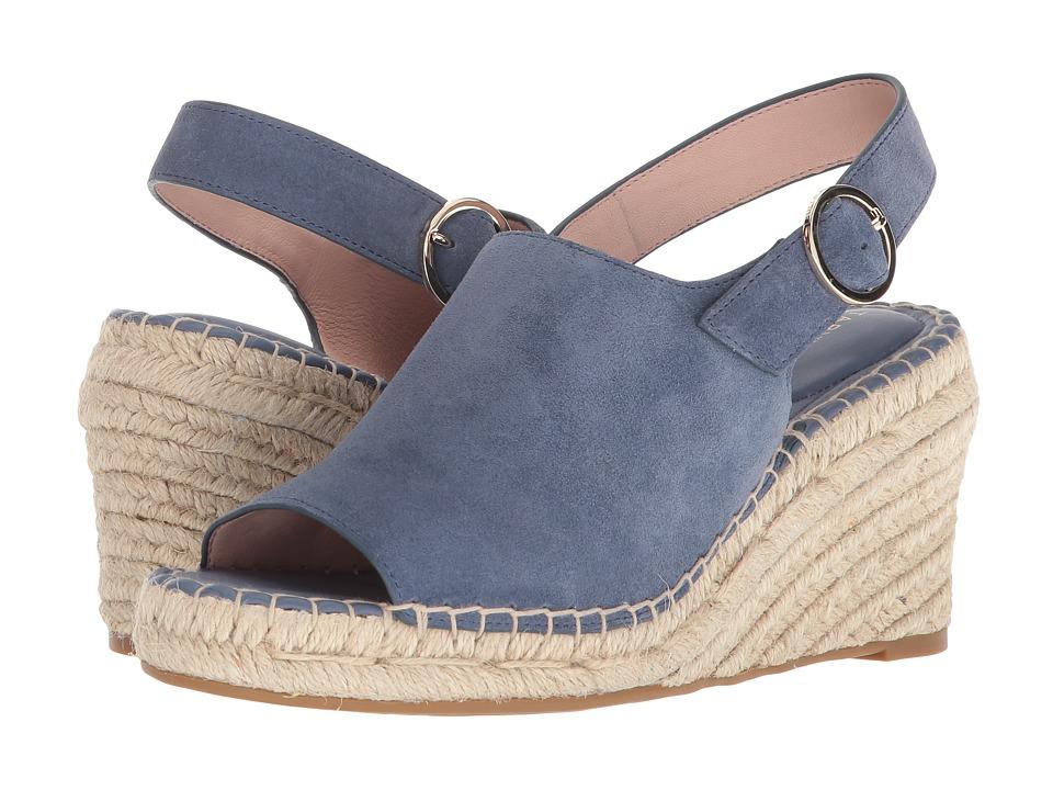 Taryn Rose - Winnie (Denim Lux Suede) Womens Shoes