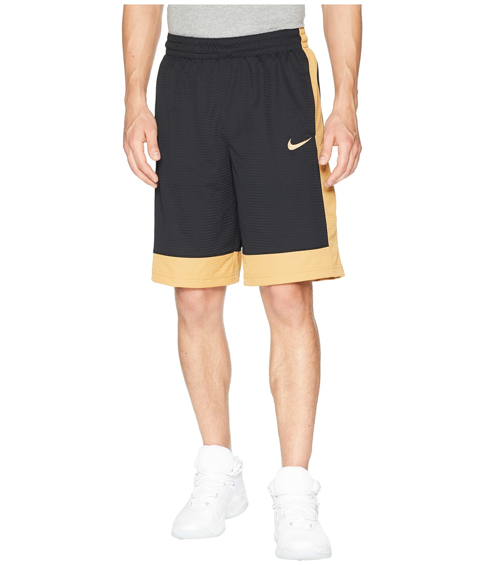 Nike Fastbreak Basketball Short (Black/Elemental Gold/Elemental Gold) Men