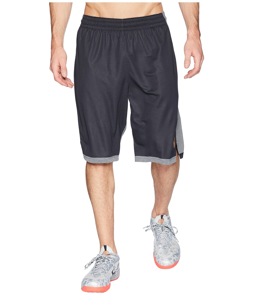 Nike Dry Dribble Drive Basketball Short (Black/Elemental Gold) Men