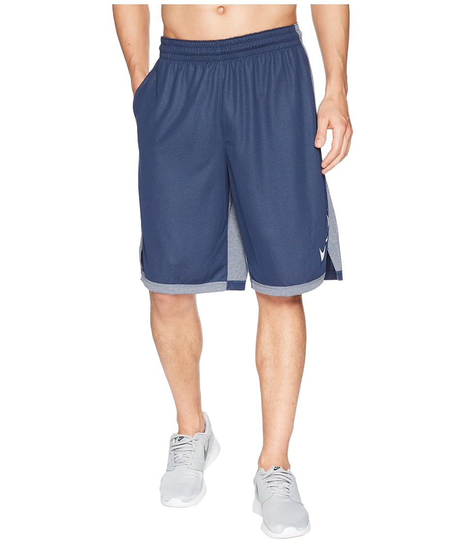 Nike Dry Dribble Drive Basketball Short (Midnight Navy/White) Men