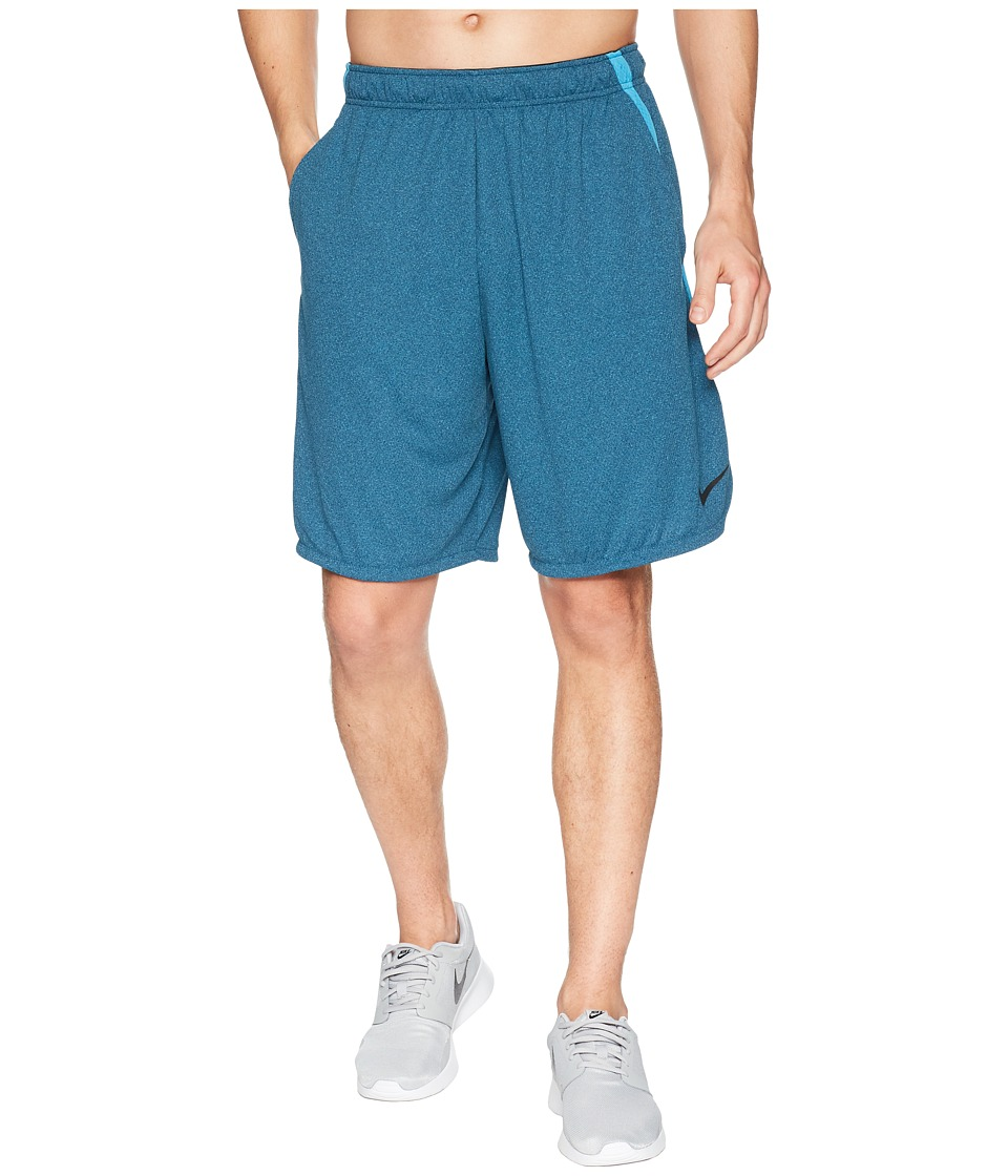 Nike Dri-FIT 9 Training Short (Blue Force/Heather/Black) Men