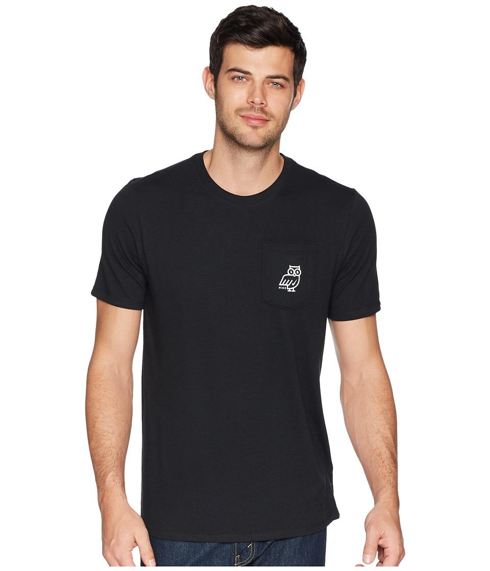 Nike SB SB Dry Tee DFC Owl (Black/White) Men