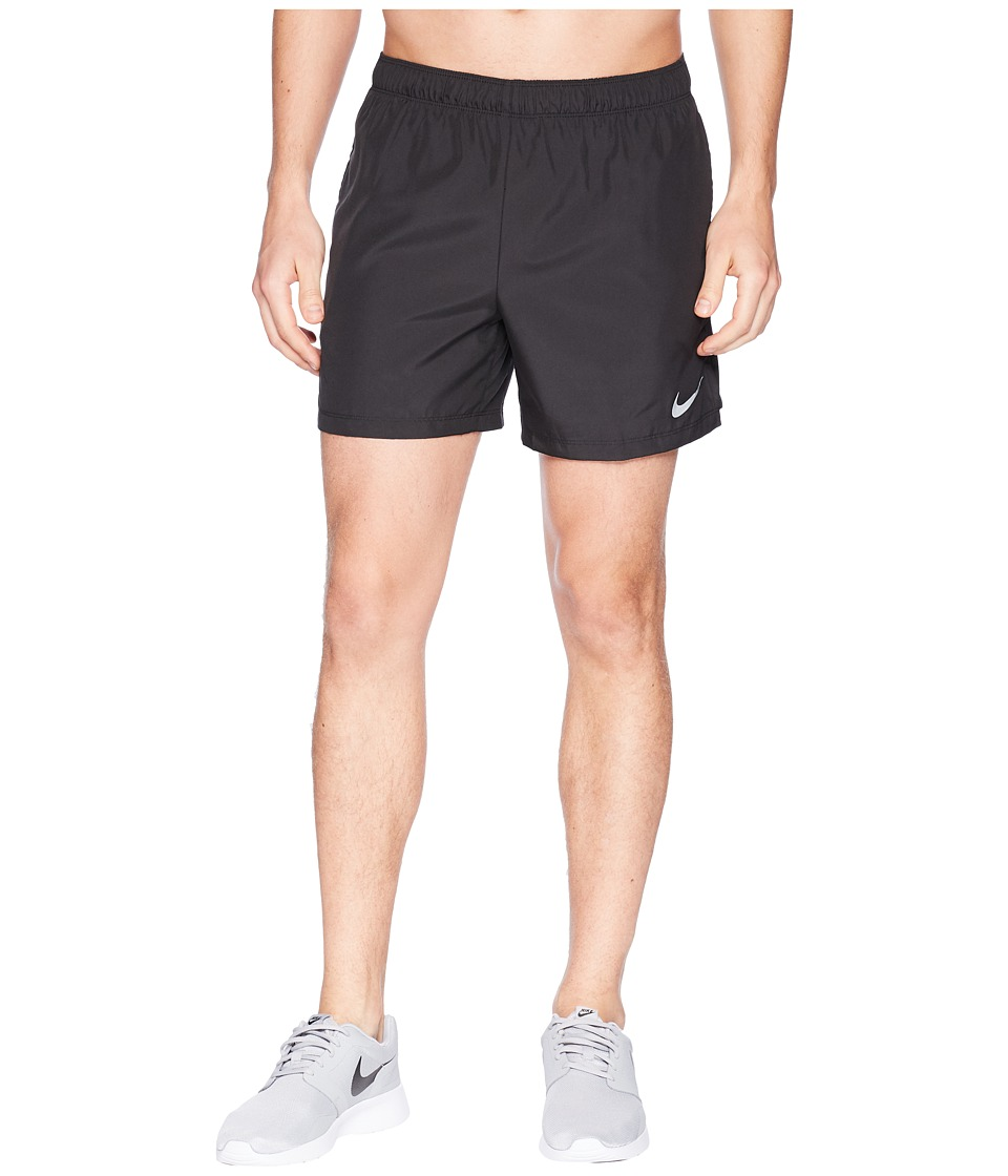 Nike Challenger 5 Running Short (Black/Black/Black) Men