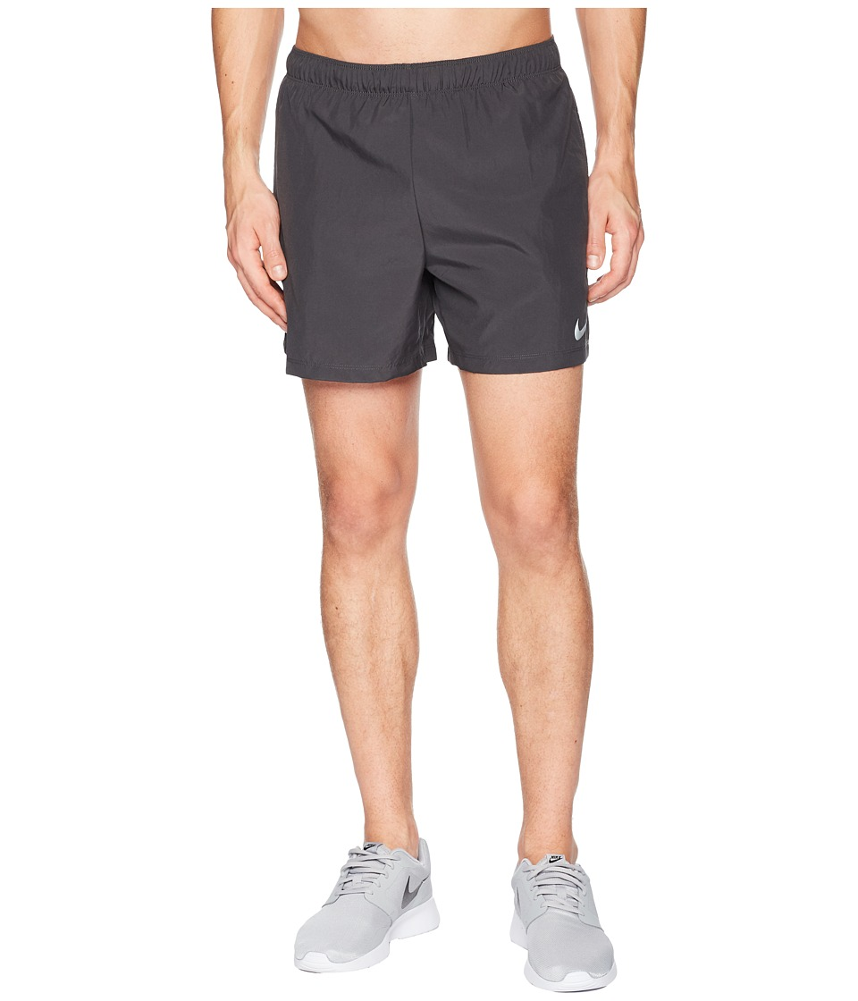 Nike Challenger 5 Running Short (Anthracite/Anthracite/Anthracite) Men