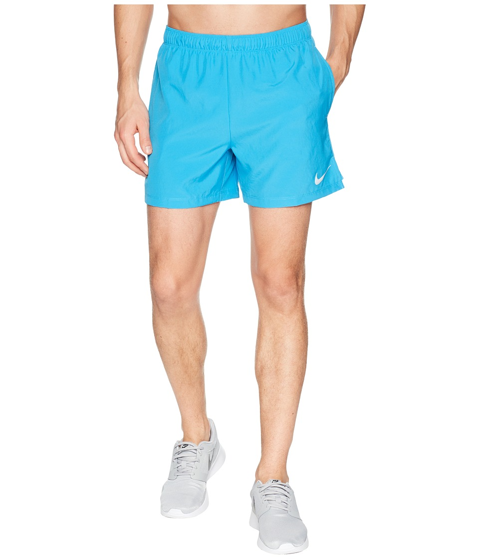 Nike Challenger 5 Running Short (Equator Blue/Equator Blue/Equator Blue) Men