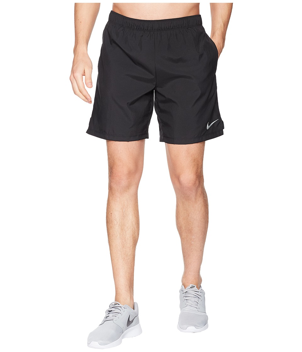 Nike Challenger 7 Running Short (Black/Black/Black) Men