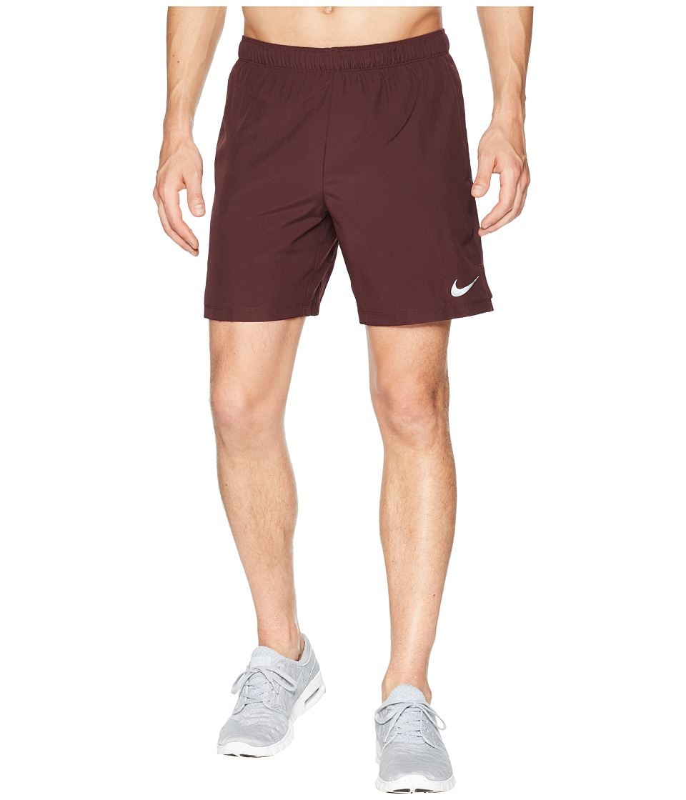 Nike Challenger 7 Running Short (Burgundy Crush/Burgundy Crush) Men