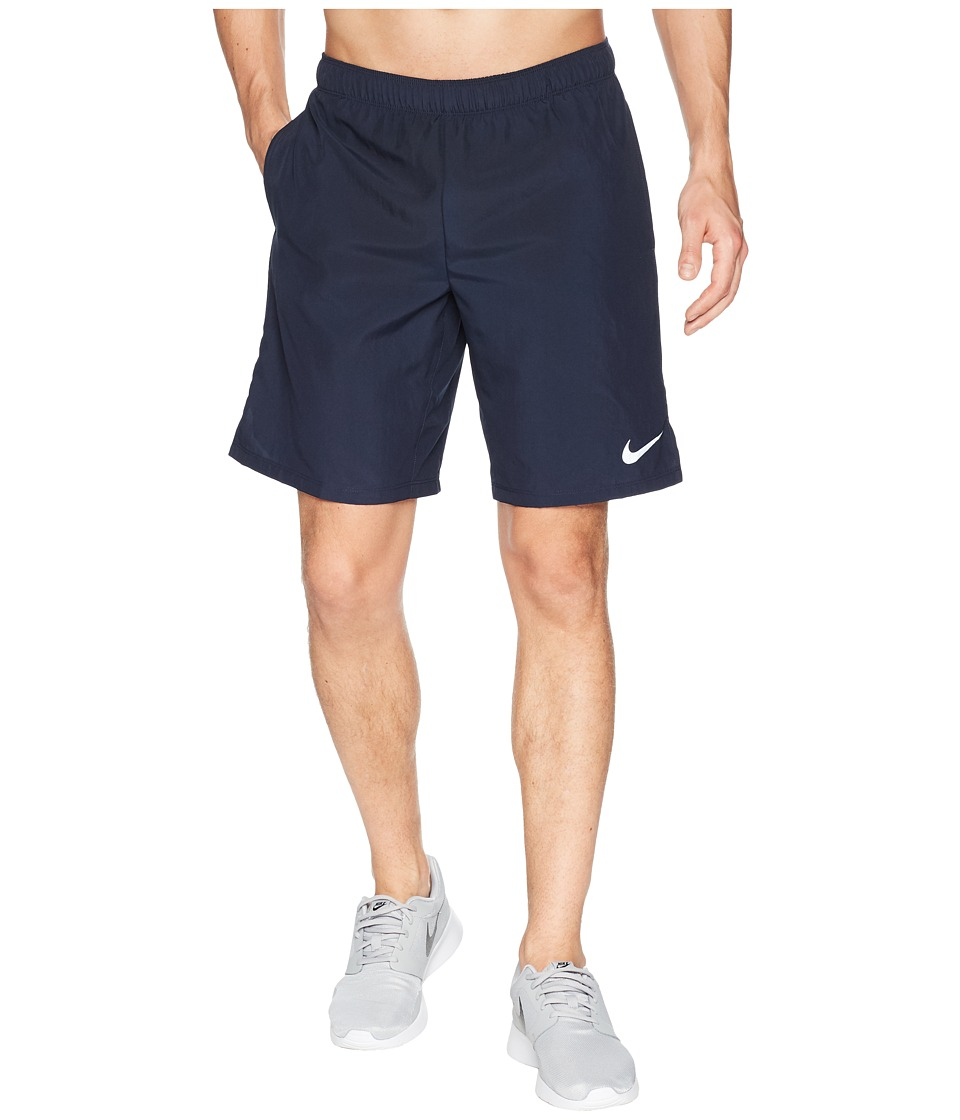 Nike Challenger 9 Running Short (Obsidian/Obsidian) Men