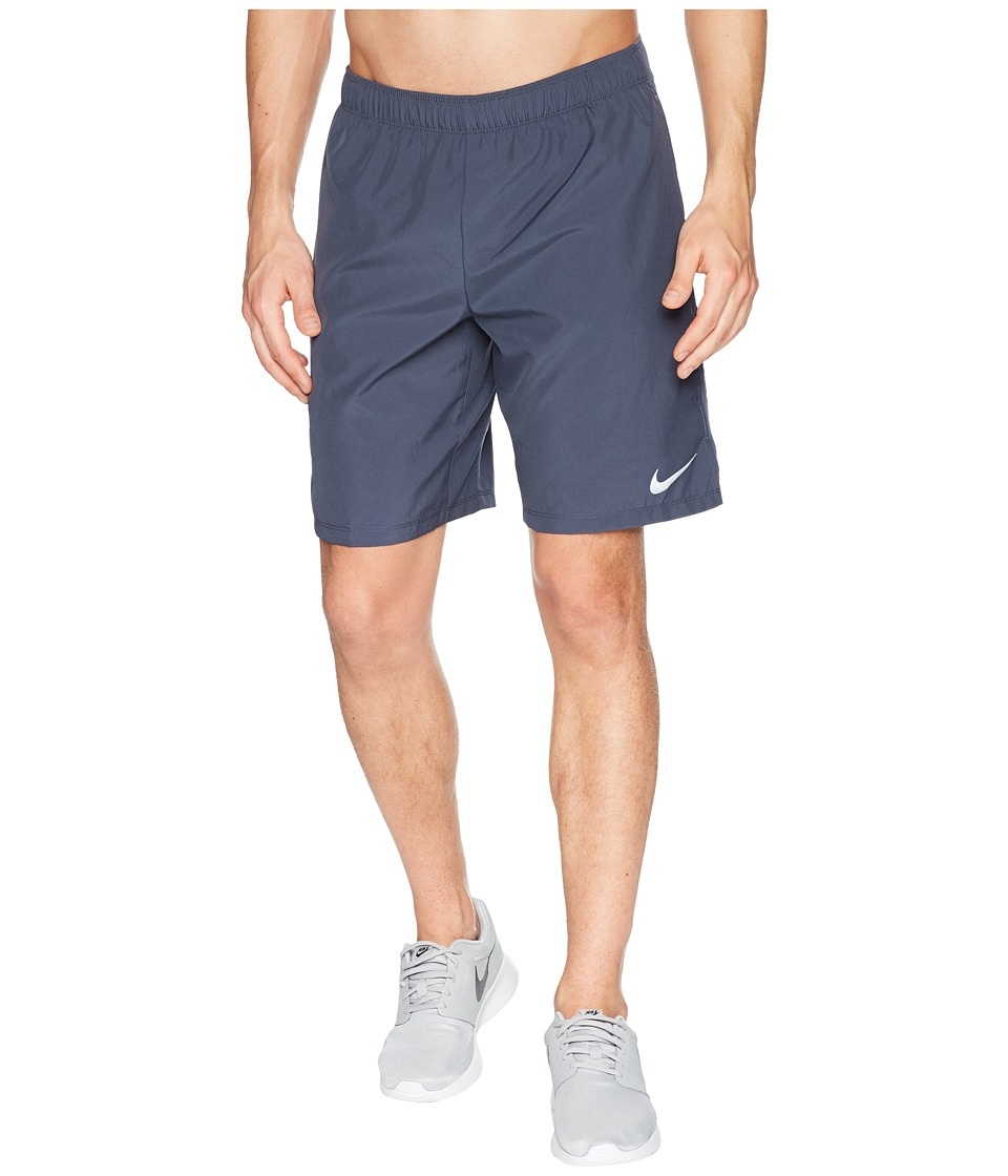 Nike Challenger 9 Running Short (Thunder Blue/Thunder Blue) Men