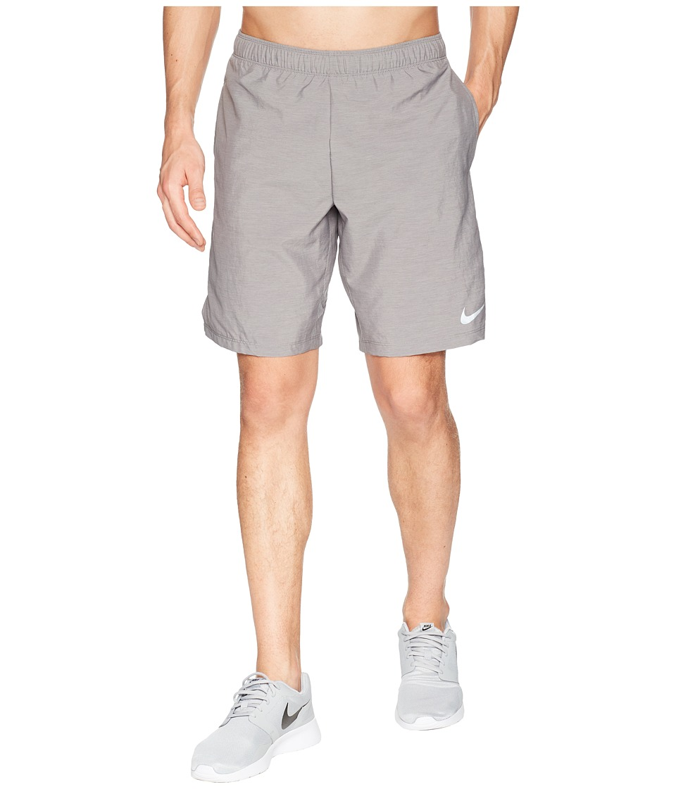 Nike Challenger 9 Running Short (Gunsmoke/Gunsmoke/Heather) Men