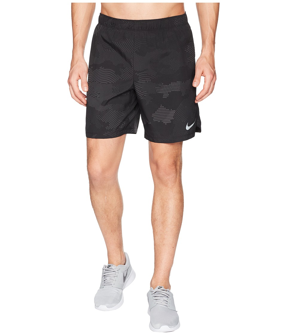 Nike Dry Challenger Shorts 7 Print (Black/Black) Men