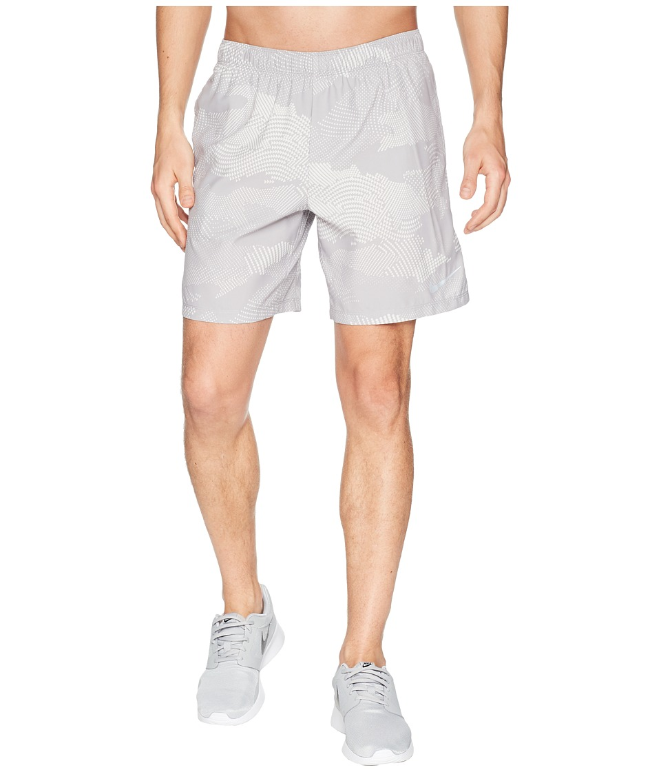 Nike Dry Challenger Shorts 7 Print (Atmosphere Grey/Atmosphere Grey) Men