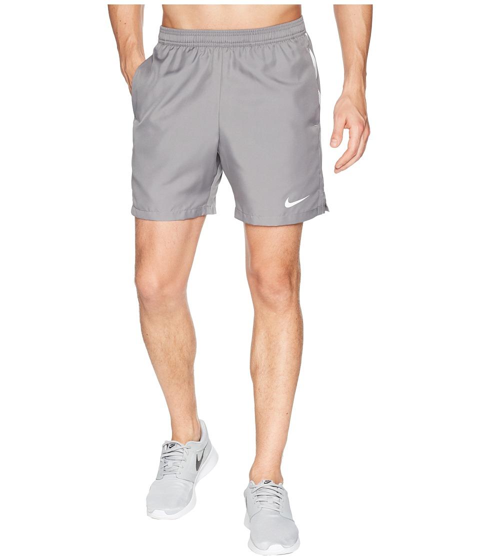 Nike Court Dry 7 Tennis Short (Gunsmoke/White/White) Men