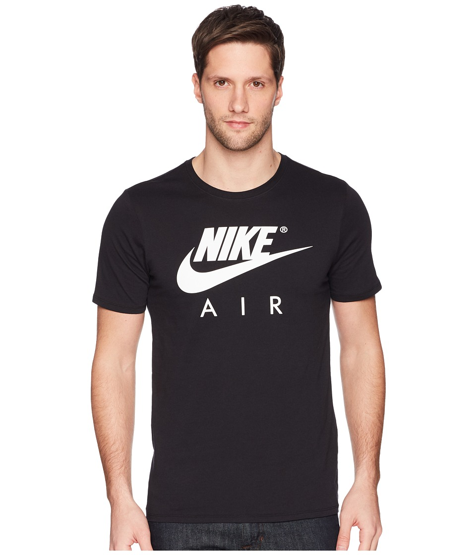 Nike NSW Tee Short Sleeve Air 3 (Black/White) Men