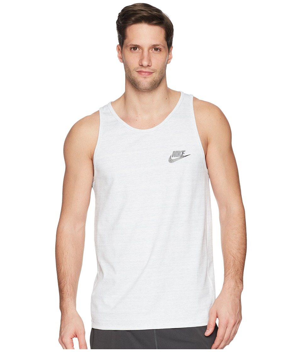 Nike Sportswear Advance 15 Tank (White/Heather/Black) Men
