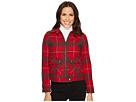 Pendleton Crop Zip Wool Plaid Jacket