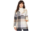 Pendleton Hooded Zip Front Toggle Coat