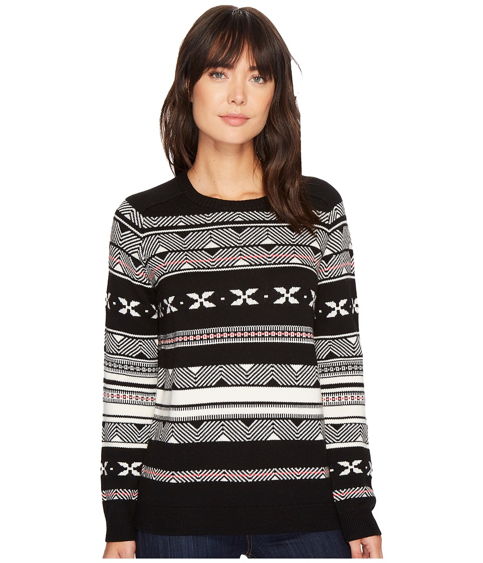 Pendleton Fair Isle Merino Crew Neck (Black Multi) Women'...