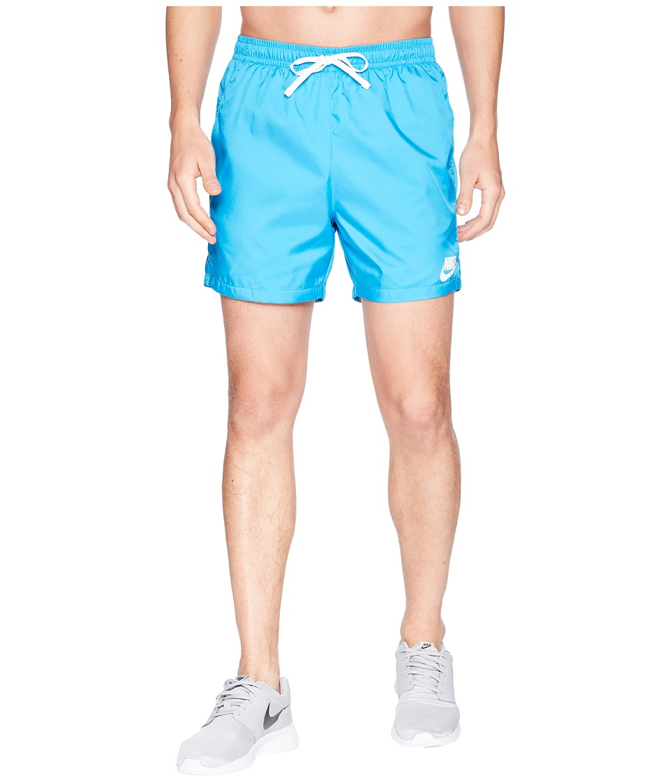 Nike Woven Flow Short (Equator Blue/White/White) Men