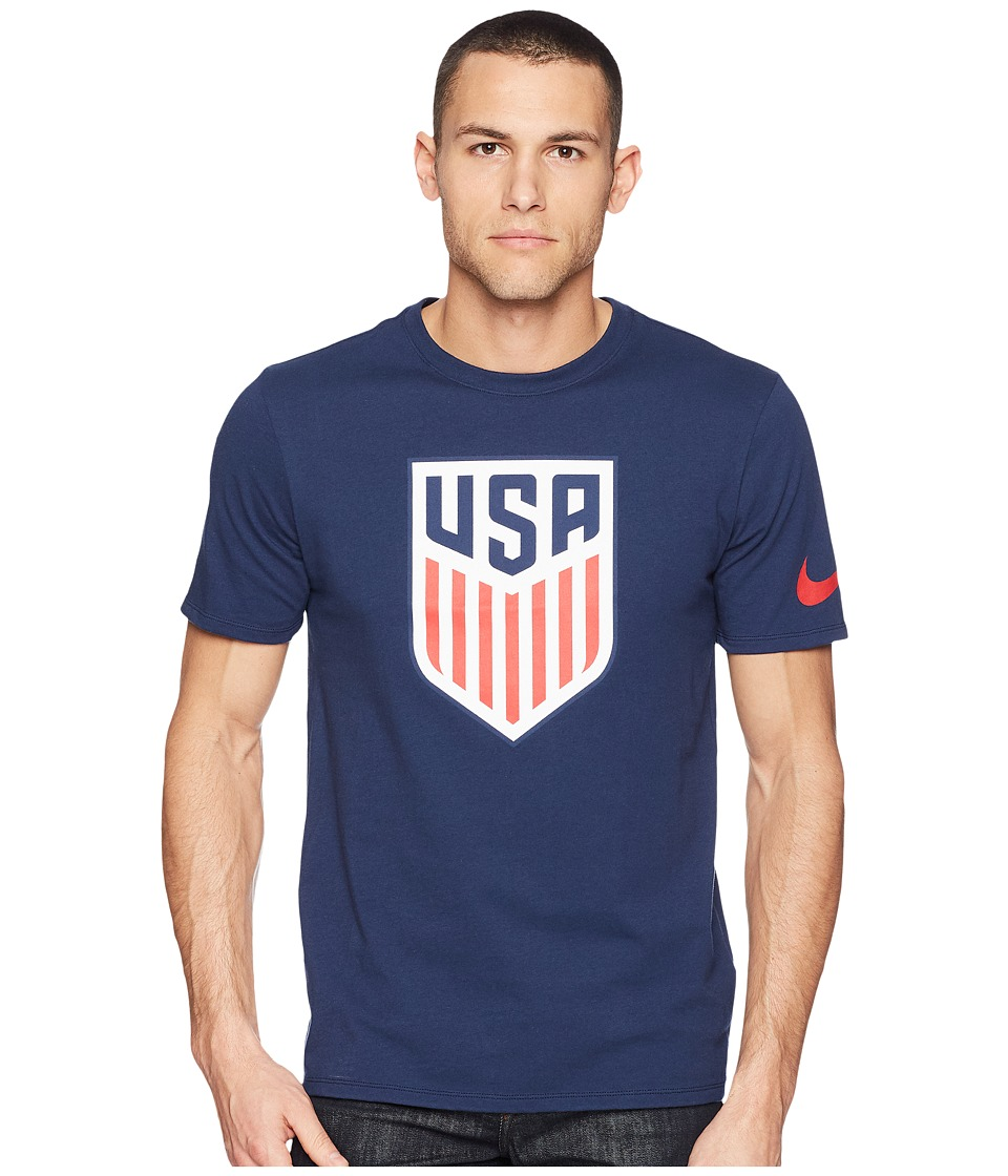 Nike USA Crest Tee (Midnight Navy) Men