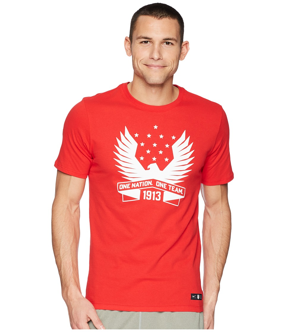 Nike USA Tee Squad (University Red) Men