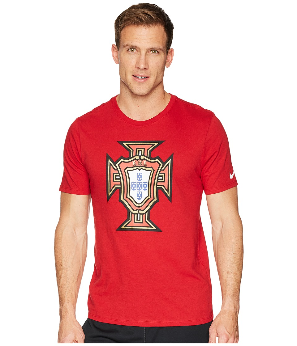 Nike FPF Tee Evergreen Crest (Gym Red) Men