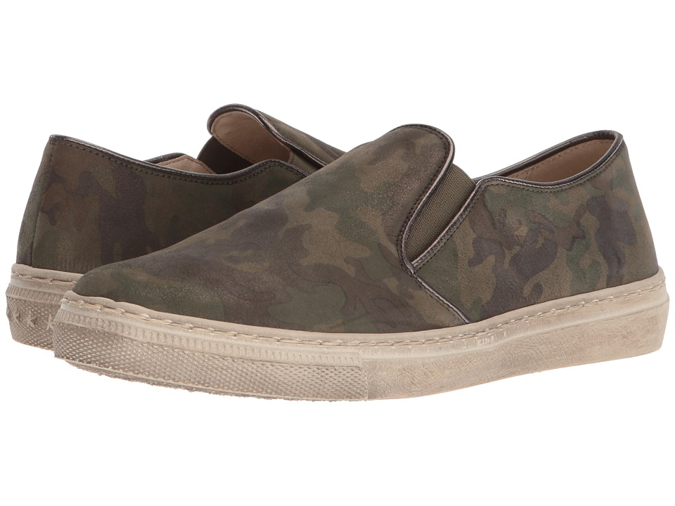 Gabor 83.352 (Olive Camo/Luxor) Women's Slip-on Dress Shoes