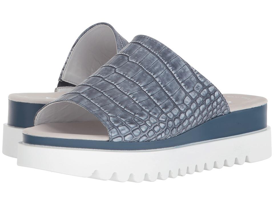 Gabor - Gabor 83.613 (Jeans Kroko Washed) Women's Sandals